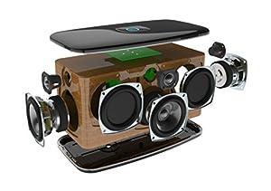 Riva RWF01B-UN Festival Wireless Multi-Room Lautsprecher schwarz
