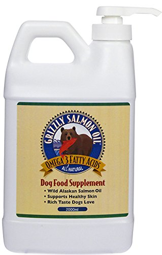 Grizzly Salmon Oil for Dogs 2000 ml