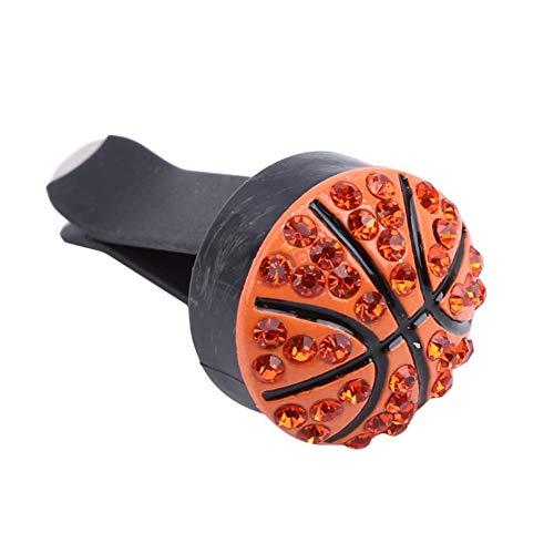 KANKOO Lufterfrischer-Clip Broadcast-Wind-Clip Langlebig Auto Parfüm Clip Deko-parfüm-Clip Ornament Indoor Autozubehör Premium-qualität-parfüm-Clip Basketball -