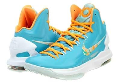 factory authentic 6de06 f1ac3 ... Sneakers  ›  Nike KD V Easter Turquoise Blue Fiberglass  Bright Citrus  554988-402 Size 12