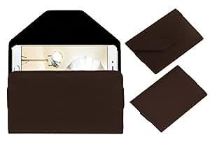 Acm Premium Pouch Case For Oppo F1 Plus Flip Flap Cover Brown