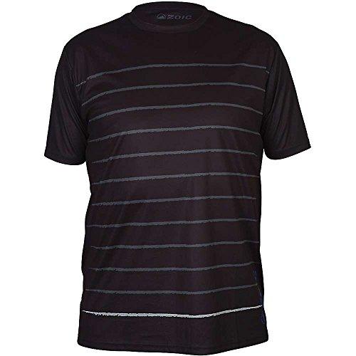 Zoic Herren Stripe Jersey Medium schwarz -