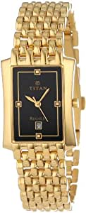 Titan Regalia Analog Black Dial Men's Watch - NE1927YM06