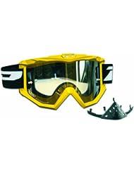 Progrip Motocross Brille Raceline - Cristal de repuesto para máscara de paintball, color amarillo