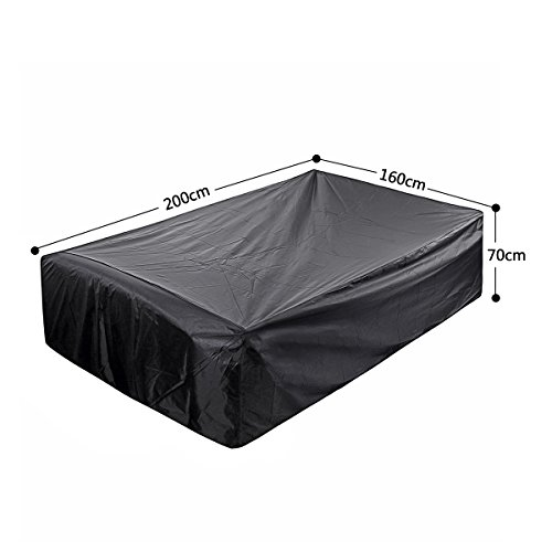 Essort Waterproof Furniture Cover, Patio Furniture Cover Polyester Outdoor Garden Furniture Protection for Tables and…