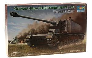 Faller Trumpeter 00350 - Maqueta de artillería autopropulsada Alemana (Escala 1:35, 12,8 cm)