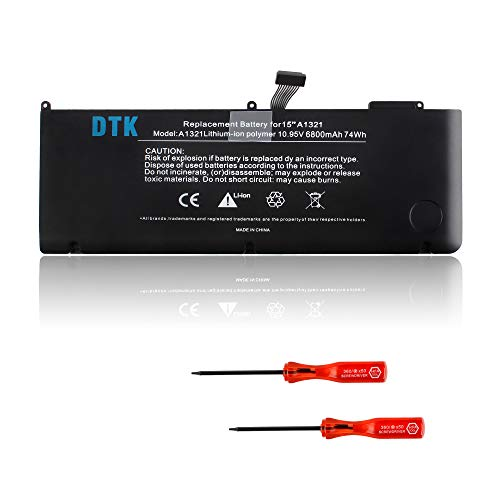 DTK Batteria Reemplazo MacBook Pro 15