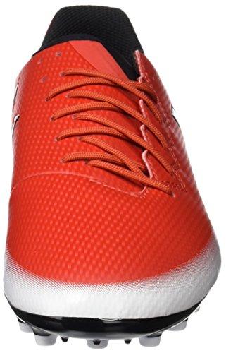 adidas Messi 16.3 Ag J, Scarpe da Calcio Bambino Rosso (Red/core Black/footwear White)