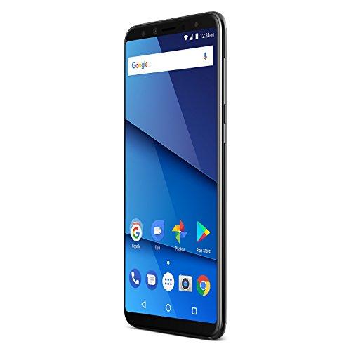 """BLU Pure View - Smartphone DE 5.7"""" (RAM de 3 GB, Memoria Interna DE 32 GB, Micro SD hasta 64 GB, Cámara DE 13 MP, Android) Color Negro"""