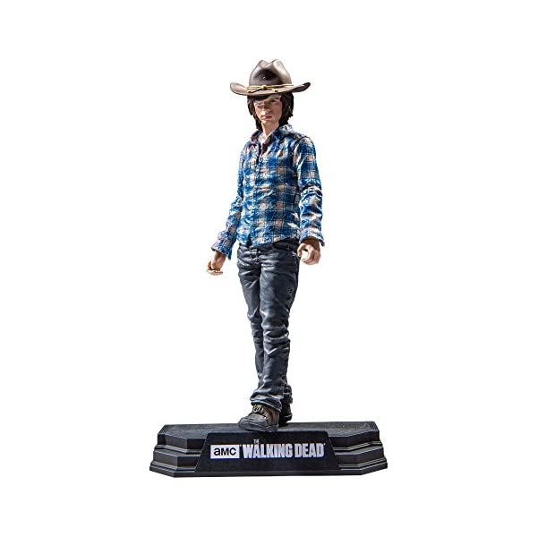 The Walking Dead Carl Grimes Figura, 18 cm (MC Farlane MCFWD146783) 2