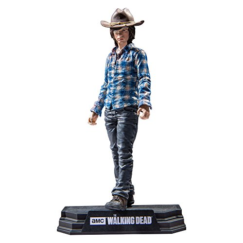 "Image of Walking Dead 14678 7-Inch ""Dead TV Carl Grimes"" Action Figure"
