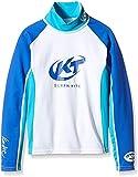 surfshop24 UV-Schutz Shirt Kinder Katie Rashguard Spandex Langarm Blau UPF 50+ Sonnenschutz