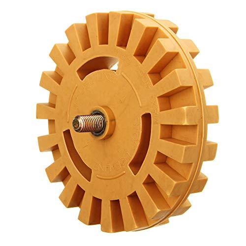 4 Pneumatische Räder (ChaRLes 21Mmx99Mm Gummi-Rad-Aufkleber-Aufkleber-Entfernung Rad 4 Zoll Pneumatische Werkzeuge Gummi Ersatz Zubehör)