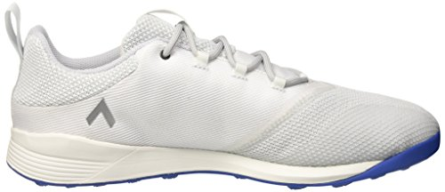 adidas  Ace Tango 17.2 Tr, Chaussures de Football Entrainement homme Blanc (Crystal White/silver Metallic/blue)