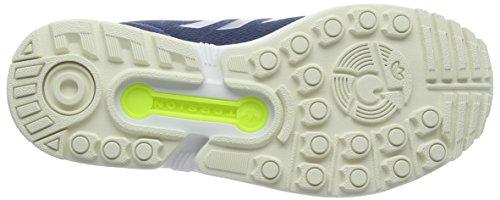 adidas Zx Flux Herren Laufschuhe Blau (Shadow Blue/Solar Yellow/Halo)
