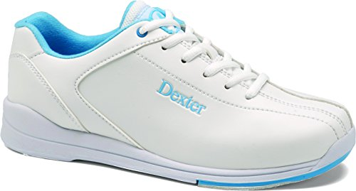 Damen Bowlingschuhe Dexter Raquel IV weiß/blau (US 10 (EU 40))