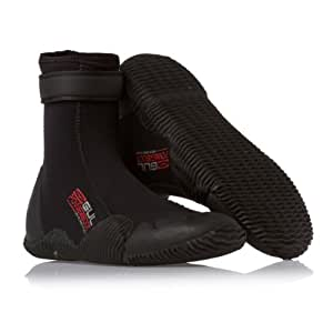 Gul Strapped Power 5mm Wetsuit Boots - Black/Red 10UK/44EU