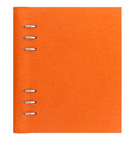 filofax-clipbook-ricaricabile-formato-a5-colore-arancione