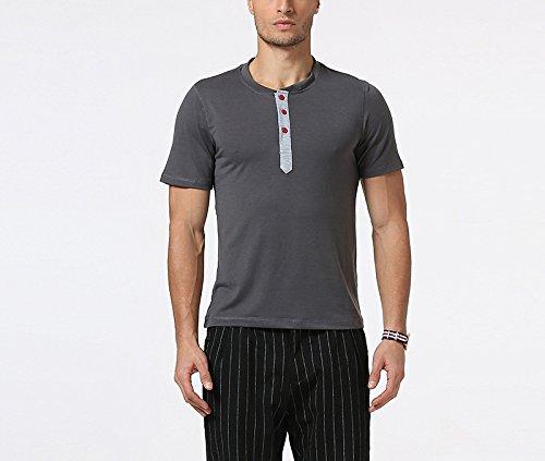 Sunshey Herren T-Shirt Dunkelgrau