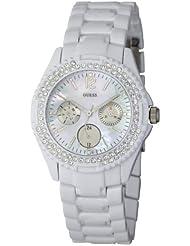 Guess Damen-Armbanduhr Rock Candy Analog Edelstahl I16015L1