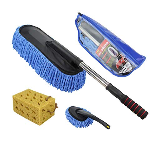 RUIX Autowaschbürste Einzieh- / Staubwischmop/Auto-Reinigungswerkzeug