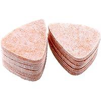 Forfar 1 piezas 3mm Ukulele personalizada Selecciones de fieltro rígidos púas Suave