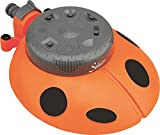 Falcon Spanco Plastic Ladybug 8-Pattern Sprinkler (Multicolour)