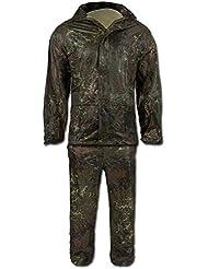 Pantalón y sudadera impermeable camufaje - XL