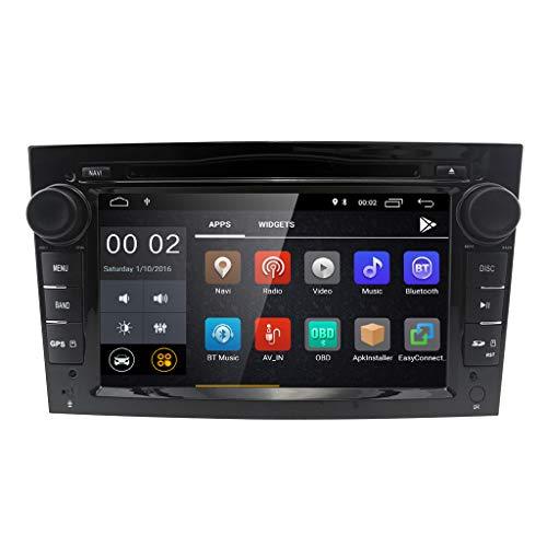 Android 8.1 Doble Din Radio estéreo del coche Pantalla táctil de 7...