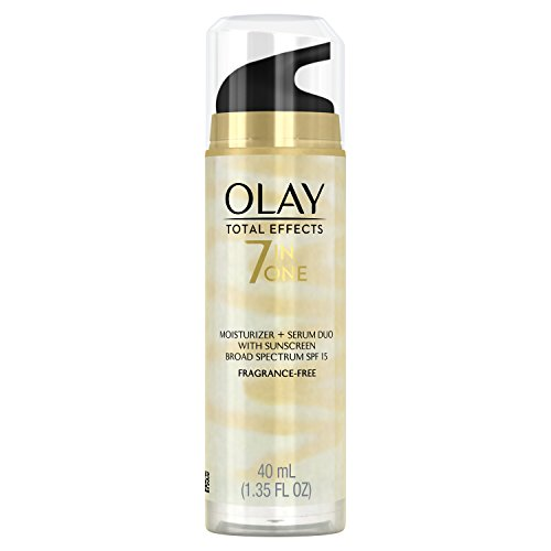 Olay Total Effects 7 in One Moisturizer + Serum Duo With Sunscreen Broad Spectrum SPF 15 fragrance-free 1.35 FL OZ by Olay -