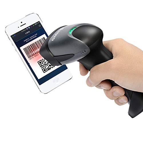 Eyoyo EY-001 Lector Código QR escáner de Mano con Cable 1D 2D CCD...