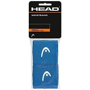 HEAD Unisex– Erwachsene 2,5 Schweißband, Blue, One Size