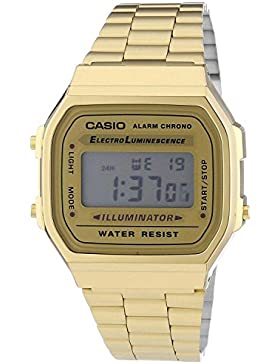 Casio Retro Gold-Ton Unisex Uhr
