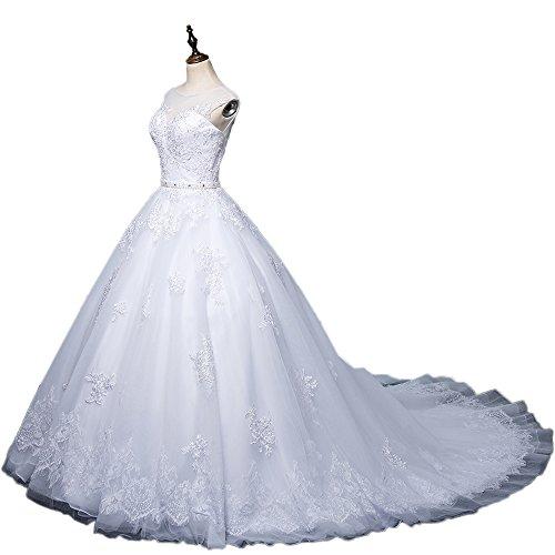 CoCogirls Sexy A-Line Spitze Applique Jahrgang Hochzeitskleid Romantisch Brautkleid Brautkleider...