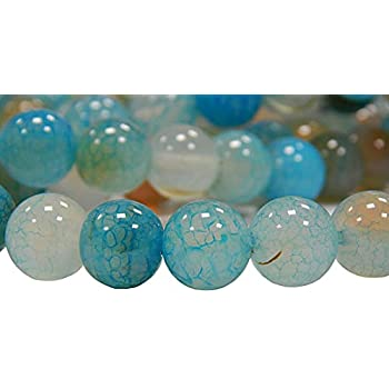 Edelsteine Perlen Natur 4mm Indische Saphir Rund Schmucksteine 1 Strang G8