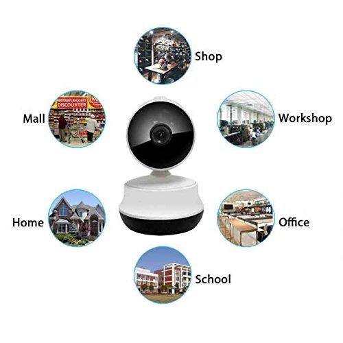 Einfach zu installieren P2P WIFI IP Kamera, 2-Wege Audio Überwachung Wifi IP Kamera, Auto Motion Tracking, Wireless ONVIF Sicherheit TF Slot, Rauschunterdrückung, Multi-Plattform, one-key Installation und Einrichtung Motion-tracking Kamera