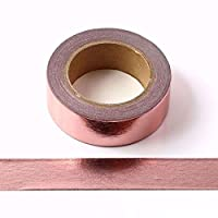 Rose Gold Foil Washi Masking Tape