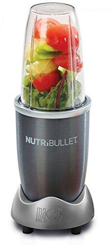 NutriBullet Küchenmaschine | Mehr Energie durch tägliche Vitaminzufuhr | Zaubert gesunde und vitaminreiche Smoothies innerhalb von Sekunden aus frischen Früchten | Zermahlt die Obstsamen und -schalen, wo die meisten Nährstoffe sitzen