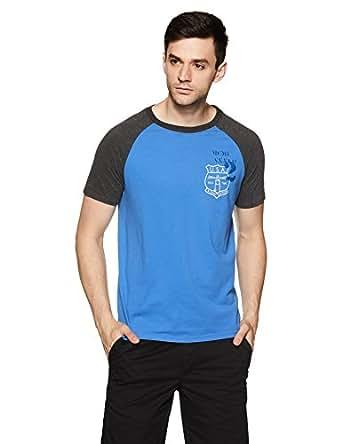 Aeropostale Men's T-Shirt (AE1009084415_X-Small_Blue Crest_8907538345066)