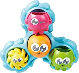 TOMY Toomies Spin & Splash Octopals Baby Bath Toy | Bath Accessories for Babies & Toddlers | Octopus Bath Toy for Water Play | Suitable For 1, 2, 3 & 4 Year Olds Girls & Boys, Multicolour