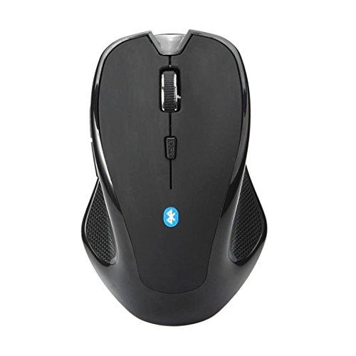 g Wireless Mini Bluetooth 3.06D 1600DPI optische Gaming Maus Mäuse Laptop (Ratte Ohren Kostüm)