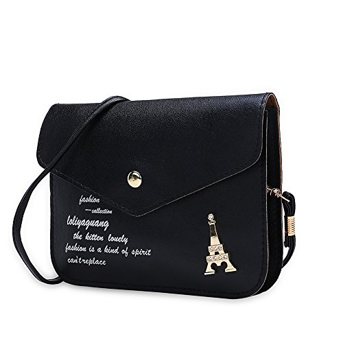 Faysting EU donna fashion borsa a tracolla donna borsa a spalla vari colori scelgliere elegante pelle stile buon regalo san valentino A