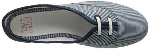 Helly Hansen W Seashell, Chaussures de Sport Femme Bleu / blanc (597 bleu marine / écume / blanc cassé)