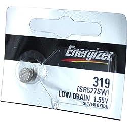 Energizer 319 SR527SW - Batería de óxido de plata (2 unidades)