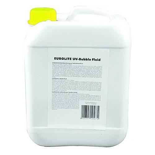 Eurolite 51705220 UV-Seifenblasenfluid (5 Liter) gelb