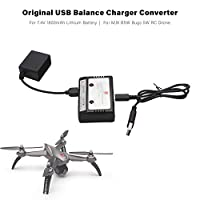 Goolsky MJX USB Balance Chargers Converter for 7.4V 1800mAh Lithium Battery for MJX B5W Bugs 5W RC Drone