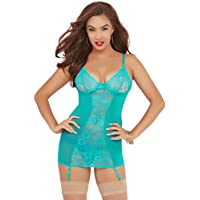 aa8b12fef935 Seven Til Midnight One Size Turquoise Unconditional Chemise Set