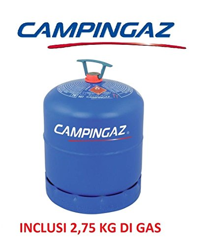 BOMBOLA PIENA CAMPINGAZ ART. 907 MIT 2,75 KG GAS - IDAL FÜR CAMPER UND CAMPING