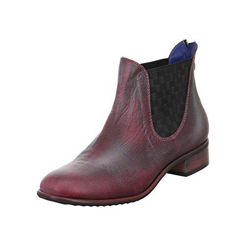 Unbekannt 3544291–Stivali da donna Rosso
