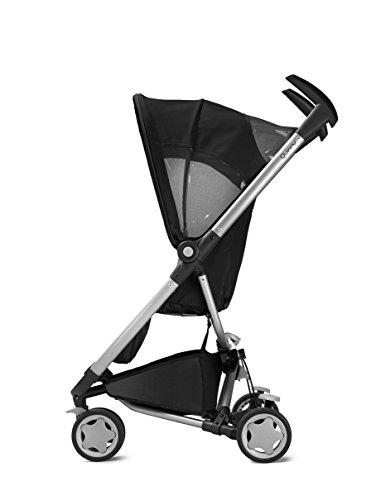Quinny Zapp, Kinderwagen Buggy Kombiset mit Maxi-Cosi Babyschale erweiterbar, superleicht und kompakt, bis 15 kg, rocking black - 2